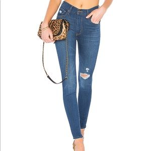 Levi's Mile High Skinny Jeans in wannabe (24)